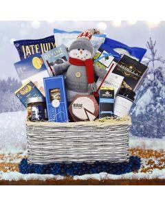 The Skiing Snowman Christmas Gift Basket