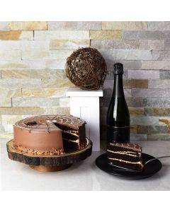 Halloween Cake & Champagne Celebration
