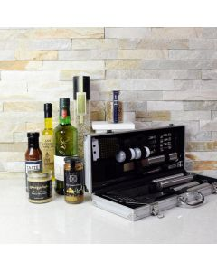 The Mediterranean Barbeque Gift Set with Liquor