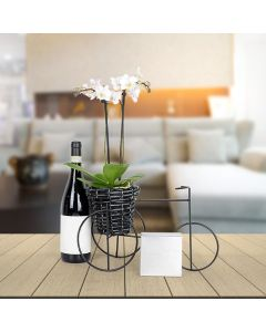Blossoms & Wine Gourmet Gift Basket