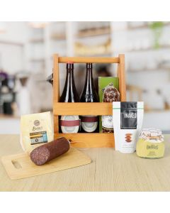 Gourmet Cheese & Treats Beer Gift Set