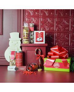 Snowman's Sweet Christmas Gift Set