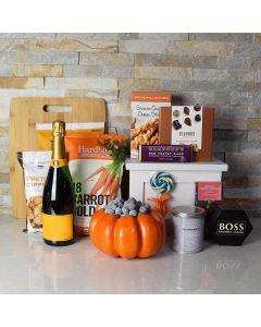 Happy Halloween Champagne Gift Basket
