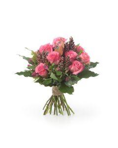 Autumnal Pinecone Bouquet