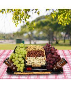 Nuts, Honey & Grapes Gift Basket