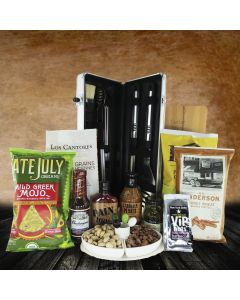 """""""It's Time for a Barbeque"""" Gift Basket"""