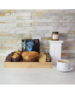 Coffee & Snacks Gift Basket