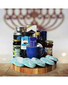 Kosher Treats & Coffee Hanukkah Gift Basket