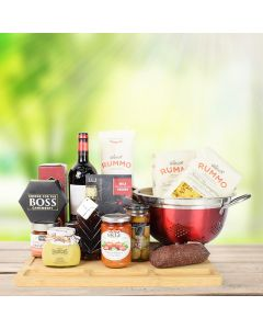 Taste of Italy Wine & Pasta Gift Basket