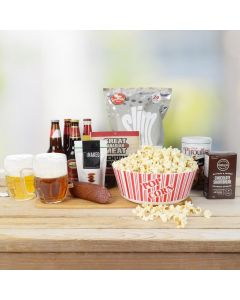 Assorted Snacks & Beer Gift Set