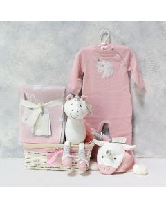 Luna The Unicorn Baby Girl Gift Set