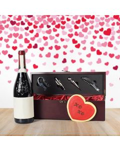 Wine Box Gift Basket