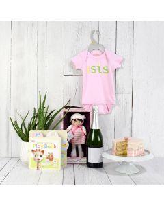 Happy Birthday Baby Girl Gift Set