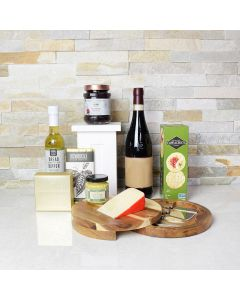 Delish Dipper, Cheese & Wine Set