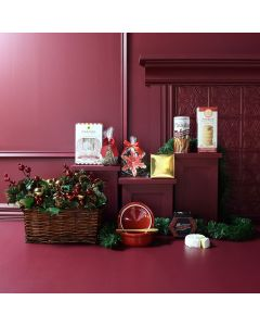 Festive Feast of Holiday Treats Gift Basket
