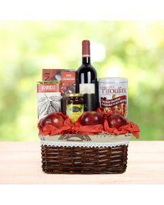 Elegant Kosher Wine Gift Basket