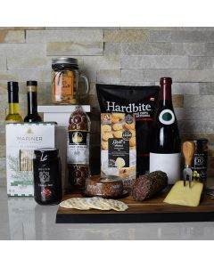 Wine & Cheese Delicatessen Gift Basket
