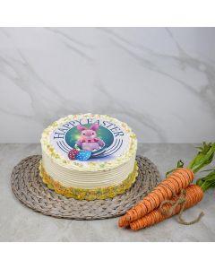 Large Rainbow Easter Cake