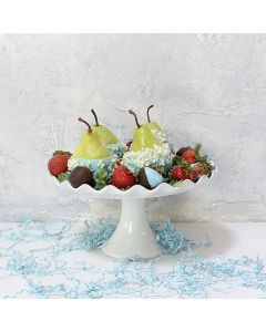 Choco-Dipped Strawberries & Pears Gift Set