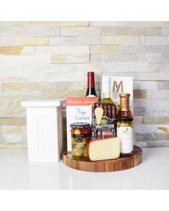 Pepper, Pepperoni & Wine Gift Set