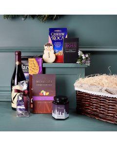 Holiday Treats & Wine Gift Set