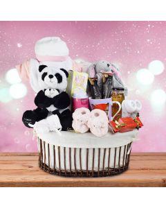 Teabeau Baby Girl Gift Basket