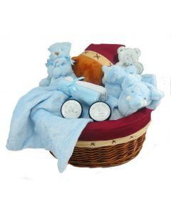 Newborn Baby Boy Gift Basket