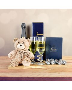Champagne For 2 Gift Basket