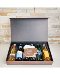 Cheers to Dad Craft Beer & Cookie Gift, father's day gift baskets, gourmet gifts, gifts, beer, father's day