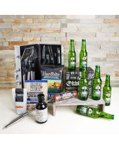 Father's Day Grill Dad Gift Set, father's day gift baskets, gourmet gifts, gifts, father's day, beer