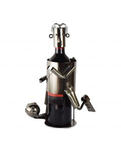 Footballer Wine Holder - Includes Wine!