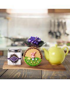 Easter Cookies & Tea Gift Basket