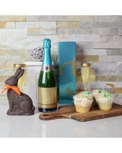 Easter Champagne & Cupcakes Gift Set