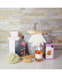 Queen's Elegance Spa Gift Basket