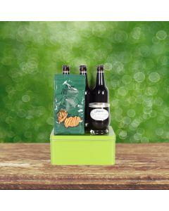 St. Patrick's Day Beer & Pretzels Basket