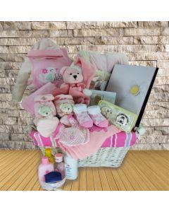 The Sleepy Time Baby Girl Gift Basket