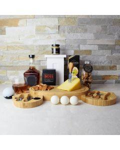 Bold Cheese & Crackers Liquor Gift Set