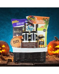Trick Or Treat Snack & Cider Basket