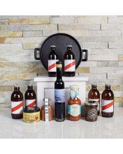 Red Stripe Beer Gift Basket