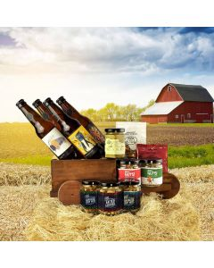 The Tipsy Hay Wagon Thanksgiving Gift Basket