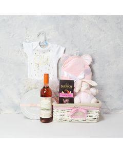 Mom and Baby Girl Gift Basket