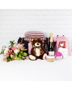 THE LITTLE LADY GIFT SET WITH CHAMPAGNE