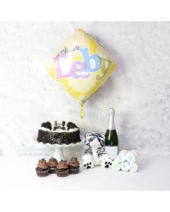 Cupcakes & Cuddles Baby Gift Set