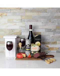 Salami & Cheese Combo Wine Gift Set