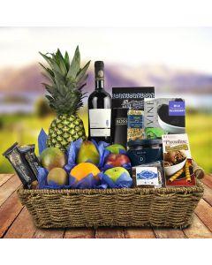 Coventry Fruit & Wine Gift Basket