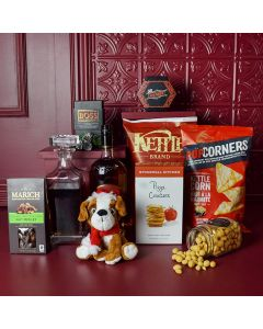 Festive Luxury Liquor Gift Crate
