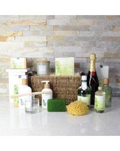 Natural Radiance Spa & Champagne Gift Set