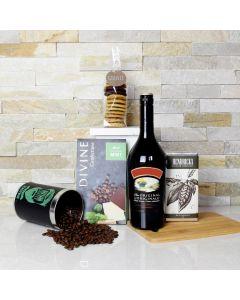 Irish Coffee & Sweets Gift Basket