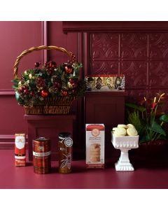 A Sweet Christmas Gourmet Gift Basket