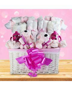 You're Having Twin Girls! Gift Basket